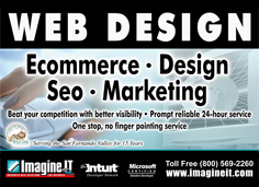 ImagineIT.com - Your Web Design Technology & Marketing Partner - 800-569-2260
